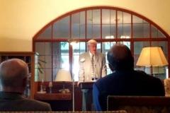 Entrega del Liber Amicorum en homenaje al Prof. Roxin por su 85º cumpleaños (28-5-2016)