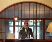 El Prof. Dr. Díaz y García Conlledo durante su alocución.