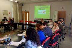 Imagen del público asistente al XIX Seminario y la ponencia de la Prof. Dra. Durán Seco.