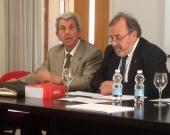 El Presidente de la FICP, el Prof. Dr. de Vicente Remesal, abre el XIX Seminario. A la dcha., el Presidentes de Honor de la FICP y director del XIX Seminario, Prof. Dr. Dr. h.c. mult. Luzón Peña.