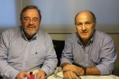 69. Los Profs. Dres. Luzón Peña y de Luca. Marzo 2015.