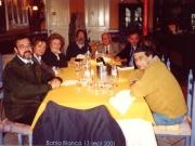 64. Bahía Blanca. Univ. Nacional del Sur. I Congreso Internacional de Derecho Penal, 13 sept. 2001: Prof. Luzón Peña, esposa, esposa del Prof. Cerezo, Profs. Edgardo Donna, A. Cantaro, Mª Graciela Cortázar, Nelson R. Pessoa.