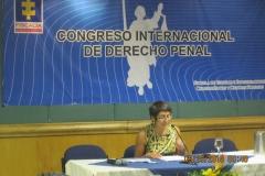La Prof. Roso en el Congreso internacional de DP de la Fiscalía Gral. en Bogotá