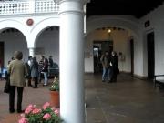 149. Bogotá, 29-9-2010, Universidad del Rosario. Seminario Problemas actuales del D. Penal. . Claustro, al fondo derecha Prof. de Vicente Remesal.