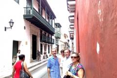 10-10-2. Cartagena. El Prof. Díaz, la esposa del Prof. de Vicente, el Prof. Luzón y su esposa.