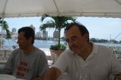 10-9-30. Cartagena. Los Profs. Lombana y Luzón.
