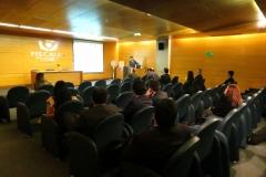 Presentación del Prof. Dr. Dr. h.c. mult. Luzón Peña por el Prof. Ernesto Vásquez Barriga, Presidente de la Asociación, en la conferencia organizada por la Asociación Nacional de Fiscales de Chile. Salón Fiscalía Regional Metropolitana Centro Norte. Santiago, Chile. 8-8-2016