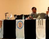 12/08/2016. El Prof. Dr. Jaime Náquira Riveros durante su conferencia en las IX Jornadas del Norte de Derecho Penal y Procesal Penal