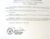 Resolución de investidura como Dr. h.c. del Prof. Dr. Díaz y García Conlledo