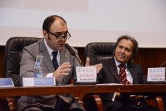 Clausura de las jornadas por el Vicerrector de Organización y Personal de Administración y Servicios de la Univ. de Barcelona, el Prof. Dr. Rafael Martínez
