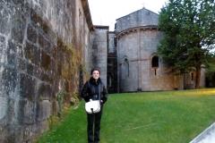 100. Leiro, Orense. 14 mayo 2010, Monasterio de San Clodio. Prof. Marta García Mosquera.