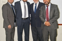 21/07/2016. El Prof. Dr. Dr. h.c. mult. Luzón Peña tras su conferencia en la Univ. San Carlos de Guatemala