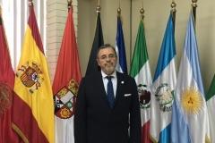El Prof. Dr. Dr. h.c. mult. Luzón Peña en la Coordinación de Postgrados Internacionales (dir. prof. Dr. César Landelino Franco López) de la Fac. CC. Jcas. de la Univ. San Carlos de Guatemala