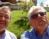 2016-7-22. El Prof. Dr. Luzón Peña y el Prof. Dr. Luis Ramírez