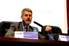 El Prof. Dr. Gómez Martín durante la Clausura del I Congreso.