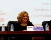 La Prof. Dra. Corcoy Bidasolo durante la Clausura del I Congreso.