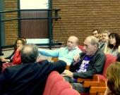 El Prof. Dr. Dr. h.c. mult. Zaffaroni interviene en el debate de la 5ª mesa