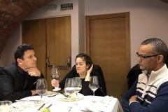 18-12-18 cena León 15 en Ezequiel. Juan C Cantillo_ Steph Serrano_ JuanCar Álvar