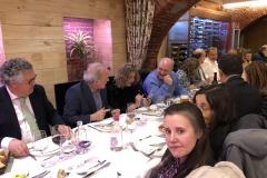 18-12-18 cena León 24 en Ezequiel. Ign. Rafols_ GªAmado_ Pilar GutSantiago_ Pareds_ Raq LópArias_ Mª Trapero