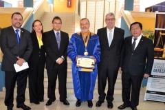 2016-10-13 UIGV 27 Drhc profs. M.A, AsunMoreno,DirGralAcadMagistr, DL, profs. de Vicente y Palomino