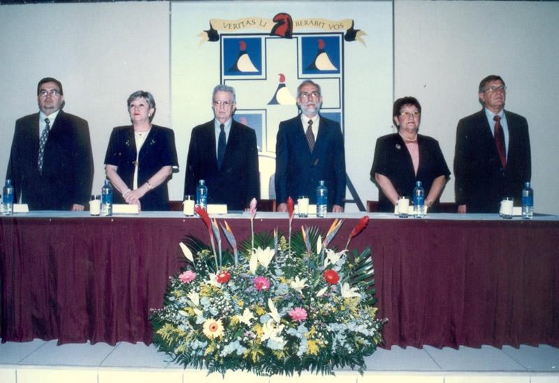 25. UCA Nicaragua, 18 nov. 2004: Investidura Prof. Luzón como Dr. h. c.  Presidencia del acto de Investidura del prof. Luzón como Dr. h. c.