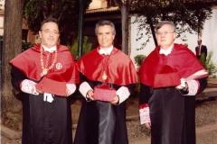 14. Claustro del rectorado de la Univ. Alcalá: Patronos de la FICP: Profs. Luzón, Mir Puig y Jorge Barreiro.
