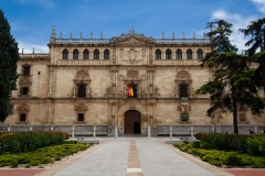 Colegio de San lldefonso, sede del Rectorado de la Universidad de Alcalá.