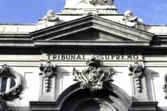 Detalle de la sede del Tribunal Supremo (España)
