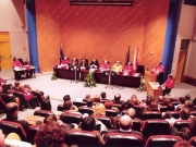 73. Investidura del Prof. Luzón como Prof. Honorario de la Facultad de Derecho de Orense, Univ. Vigo, 20 enero 2006. Panorámica del aula magna.