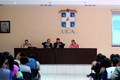12-7-2016. Conferencia invitada del Prof. Dr. Dr. h.c. Luzón Peña, Fac. CC. Jurídicas de la UCA. Managua, Nicaragua.