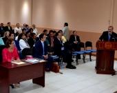 15-7-2016. Intervención del Prof. Dr. Dr. h.c. mult. Luzón Peña durante el solemne acto de defensa de la tesis doctoral de la Dra. Rizo Pereira.