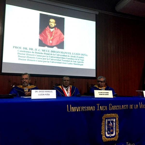 Doctorado h.c. Univ. Inca GV Lima III