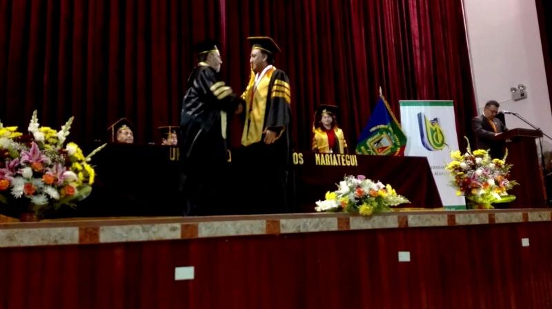 Doctorado h.c. Univ. JC Mariategui