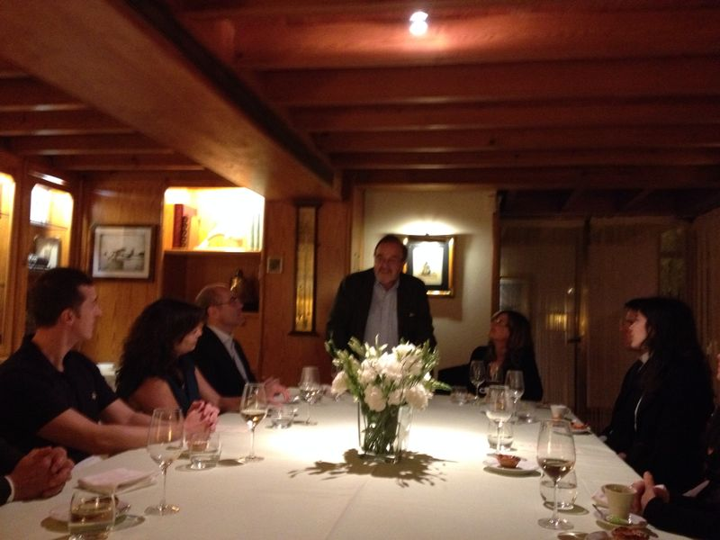 132. Discurso de la Prof. Dra. da Palma Pereira durante la cena
