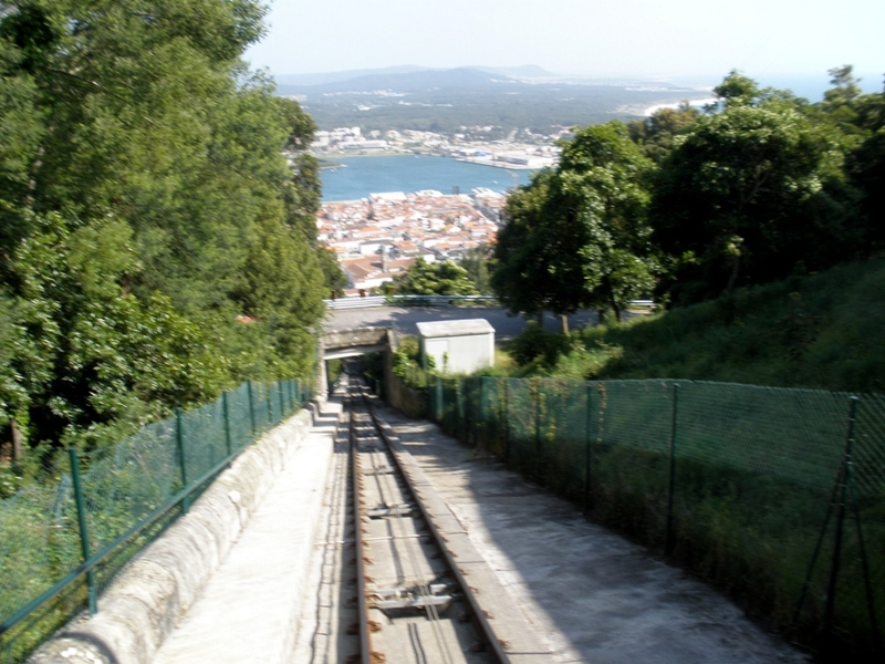 117. Viana do Castelo, 15 mayo 2010. Elevador de Santa Luzia.