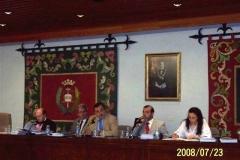 103. Univ. de León, Fac. de Derecho. 23 julio 2008. Concurso a plaza de Prof. Contratado Doctor, adjudicada a la Prof. Dra. Isabel Durán Seco. El tribunal o comisión que juzga el concurso.