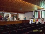 107. Univ. de León, Fac. de Derecho. 23 julio 2008. Concurso a plaza de Prof. Contratado Doctor, adjudicada a la Prof. Dra. Isabel Durán Seco. Aplauso a la nueva Prof. Contratada Doctora.