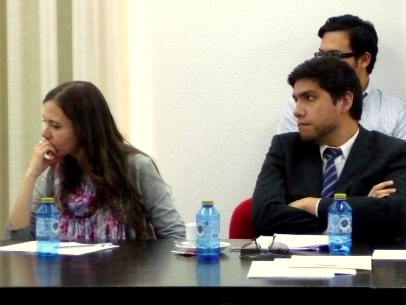 D.ª Susana Escobar Vélez y D. Alfredo Alpaca Pérez.