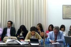 La Prof. Dr. García Mosquera junto al Prof. García Sobrado.