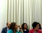 De izq. a dcha., las Profs. Dras. Durán Seco y García Mosquera.